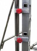 Poręczny system montażu i regulacji poziomu stabilizatorów.