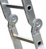 Zapadkowy przegub bezpieczeństwa z dźwignią obsługi jedną ręką.
