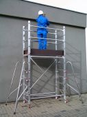 Małe wymiary i waga poszczególnych elementów pozwalają na szybki i łatwy montaż.