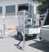 Specjalne stabilizatory do stosowania z platformą na przyczepie. Zawsze gotowy do użytku i łatwy w transporcie.