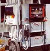 DC06 Przenośny zespół zasilania 24V (dwa akumulatory, ładowarka, pojemnik).